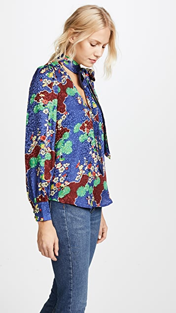 RIXO London Ivy Top