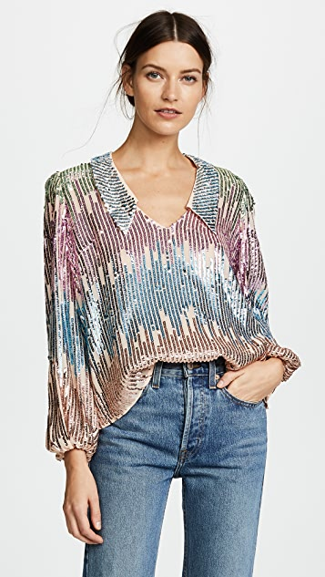 RIXO London Lyla Blouse