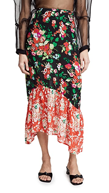 RIXO London Leandra Skirt