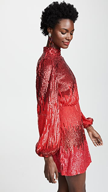RIXO Платье Samantha