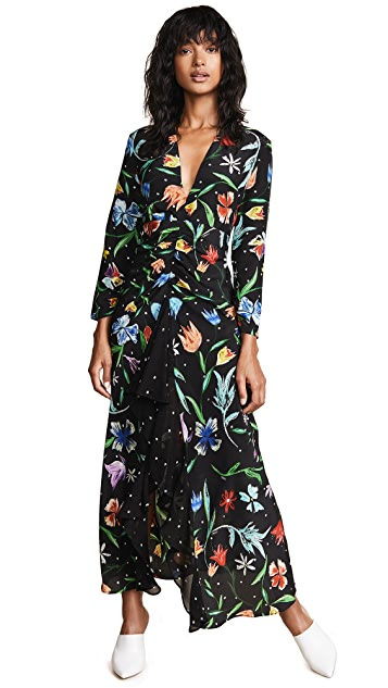 RIXO London Rose Dress