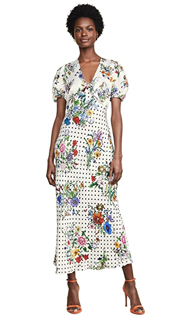 RIXO Star Dress