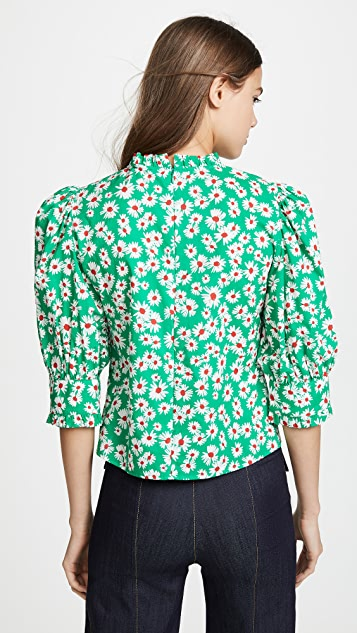 RIXO Mandy Blouse