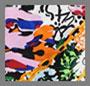 Комбинированный цветочно-тигровый принт
