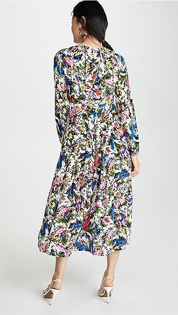 RIXO Платье Camellia