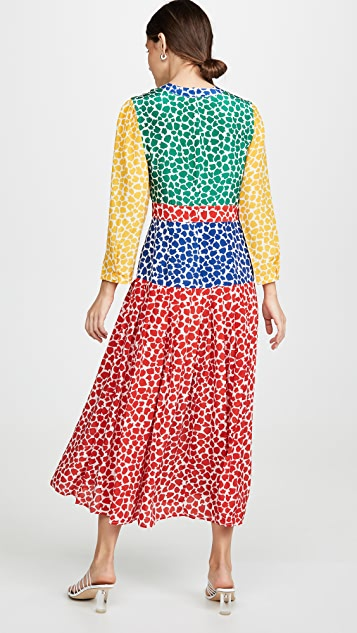 RIXO Платье Charlene