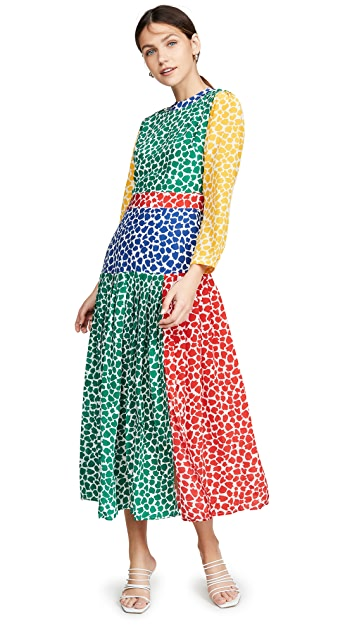 RIXO Charlene Dress