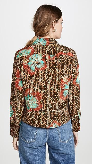 RIXO Jamie Shirt