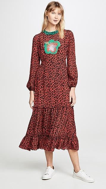 RIXO Платье Mona