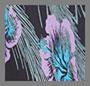 Palm and Floral Burnout