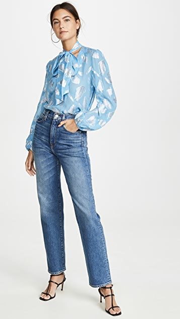 RIXO Moss 女式衬衫