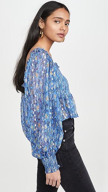 RIXO Eloise 女式衬衫