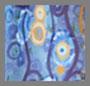 Klimt 波纹形眼睛蓝色
