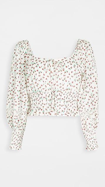 RIXO Helena 女式衬衫