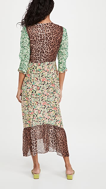 RIXO Saffron Dress