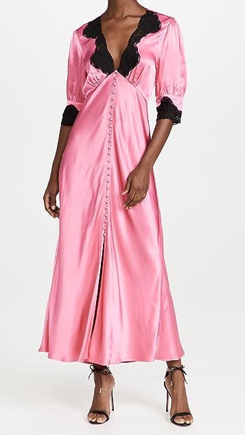 RIXO Simone Midi Dress
