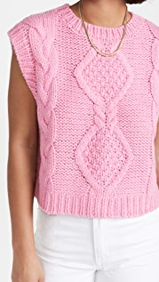 RIXO Renee Knit Vest