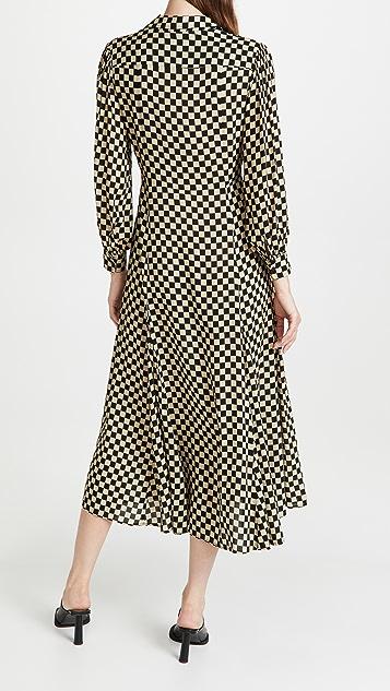RIXO Maddison Midaxi Dress