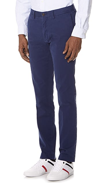 Polo Ralph Lauren Cotton Stretch Slim Fit Chinos