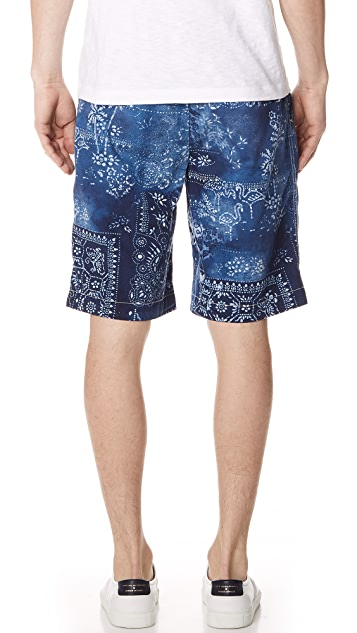 Polo Ralph Lauren Moroccan Tile Shorts