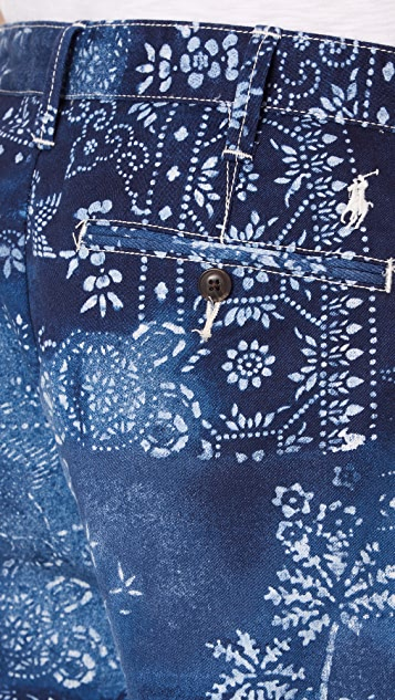 Polo Ralph Lauren Moroccan Tile Shorts