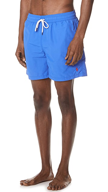 Polo Ralph Lauren Nylon Traveler Swim Trunks