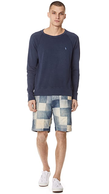 Polo Ralph Lauren Spa Terry Crewneck Sweatshirt
