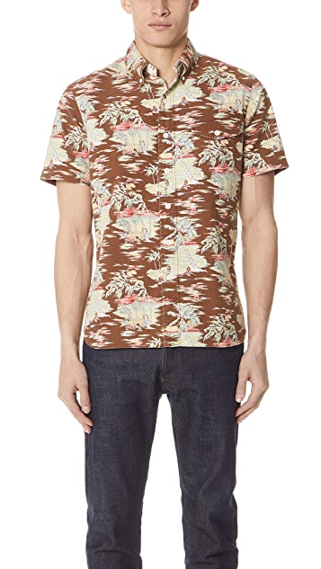 Polo Ralph Lauren Tropical Short Sleeve Shirt
