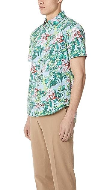 Polo Ralph Lauren Palm Floral Short Sleeve Shirt
