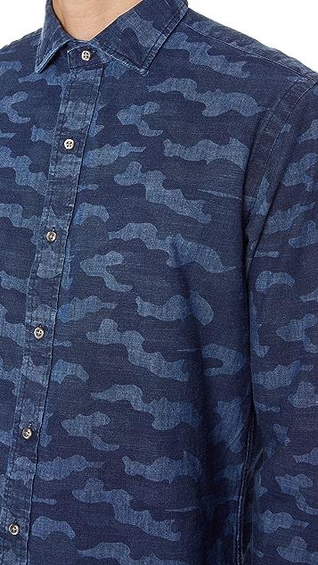 Polo Ralph Lauren Indigo Camo Shirt
