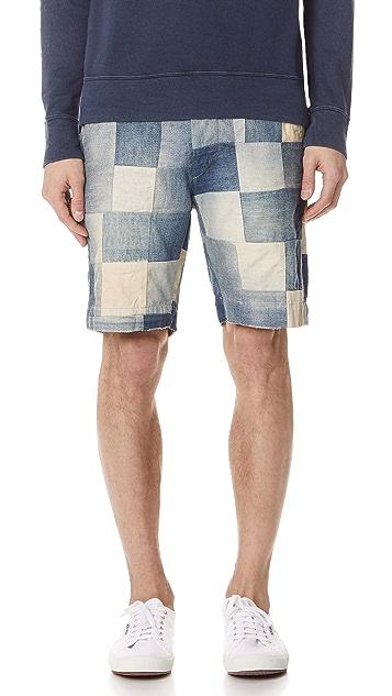 Polo Ralph Lauren Watts Patchwork Shorts