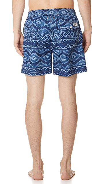 Polo Ralph Lauren Indigo Swim Trunks