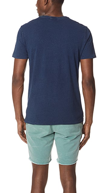 Polo Ralph Lauren Indigo Pocket Tee