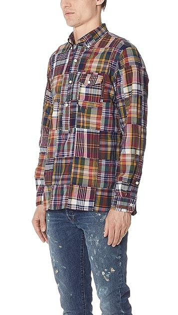 Polo Ralph Lauren Patchwork Madras Shirt