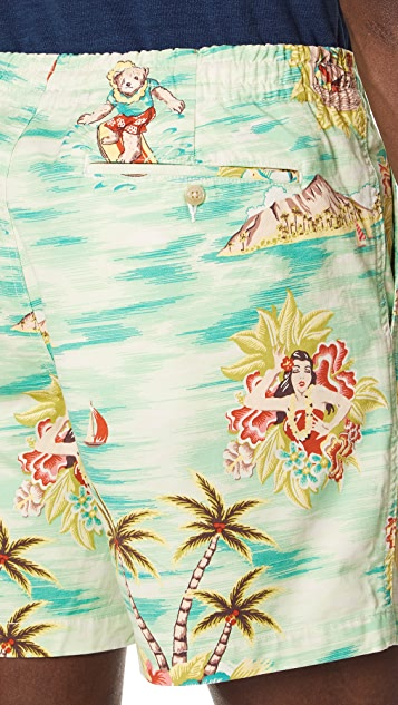 Polo Ralph Lauren Prepster Hawaiian Shorts