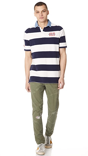 Polo Ralph Lauren Cotton Herringbone Trousers