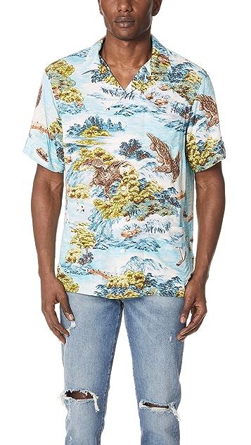73a1c4d7 Polo Ralph Lauren Landscape Hawaiian Shirt | EAST DANE