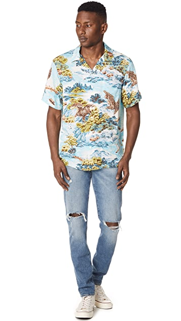 Polo Ralph Lauren Landscape Hawaiian Shirt