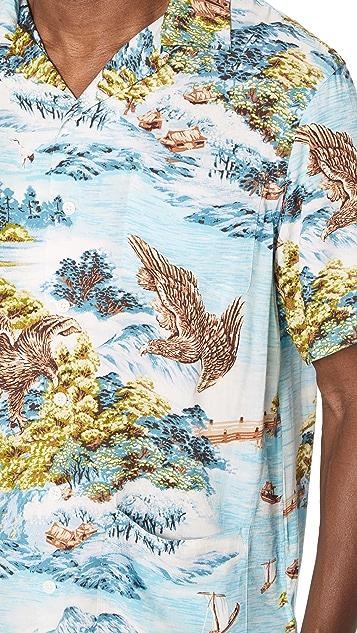 Polo Ralph Lauren Landscape Hawaiian Shirt