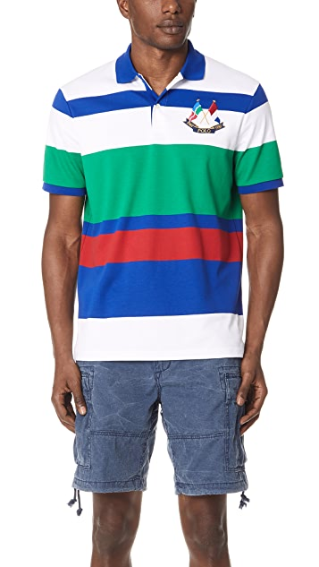 Polo Ralph Lauren Interlock Striped Polo Shirt
