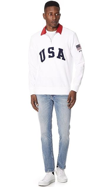 Polo Ralph Lauren Magic Fleece Quarter Zip Pullover