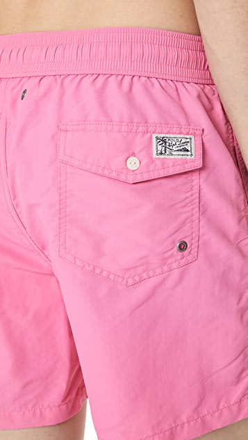 Polo Ralph Lauren Chroma Pink Swim Trunk