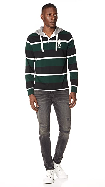 Polo Ralph Lauren Striped Hooded Pullover