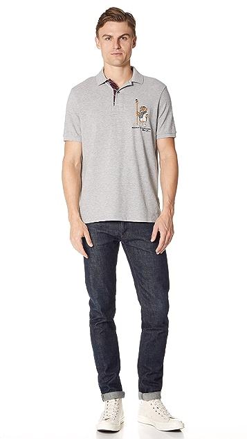 Polo Ralph Lauren Mesh Bear Polo Shirt