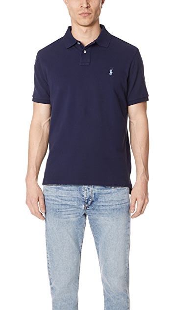 Polo Ralph Lauren Custom Slim Fit Polo Shirt ...