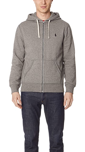 Polo Ralph Lauren Classic Fleece Full Zip Hoodie