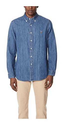 Polo Ralph Lauren - Standard Fit Denim Sport Shirt