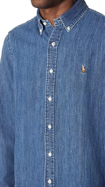 Polo Ralph Lauren Standard Fit Denim Sport Shirt