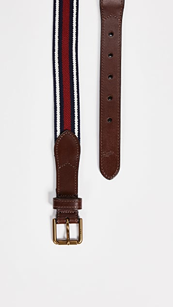 Polo Ralph Lauren 34mm Braid Fabric Stretch Belt