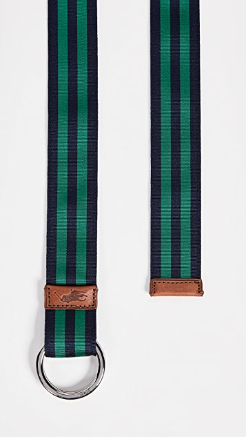 Polo Ralph Lauren 35mm O Ring Ribbon Belt